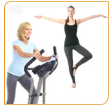 Regular exercise and yoga improve your health and favor your well-being