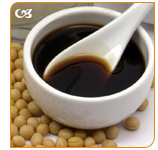 Soy Sauce is a very common condiment in every chinese restaurant.